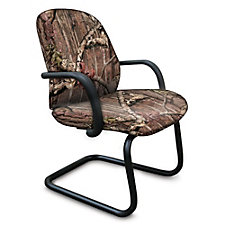 Allegra Fabric Camo Cantilever Base Guest Chair, CH50606