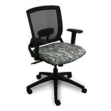 Fermata Camo Mesh Back Chair, CH50607
