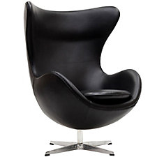 Glove Leather Modern Guest Chair, CH50551