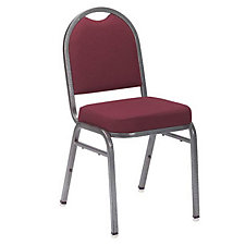 Solid Fabric Padded Stack Chair, CH02927