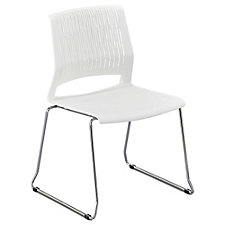 Chrome Frame Stacking Chair, CH51734