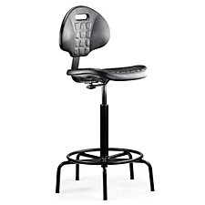 Geo Armless Stool with Spider Base, CH50623