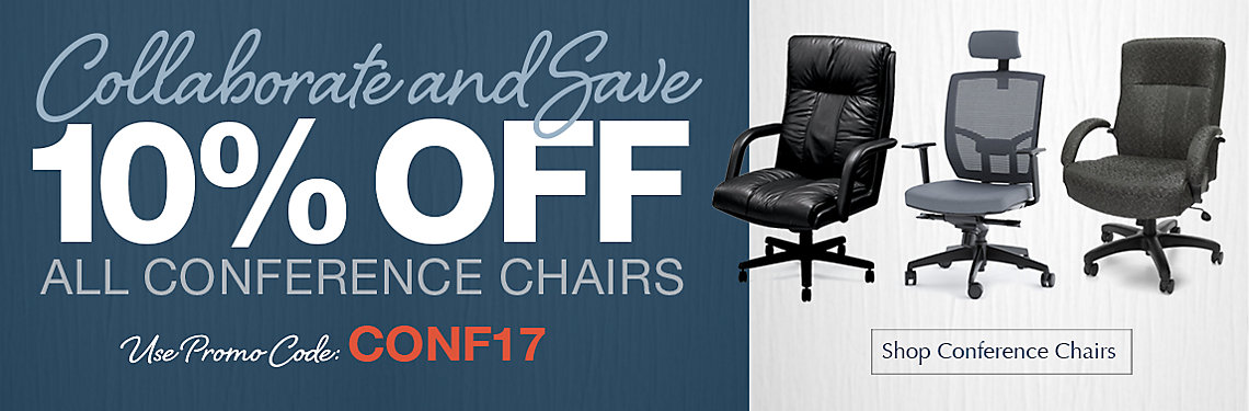 Save 10% on Conference Chairs