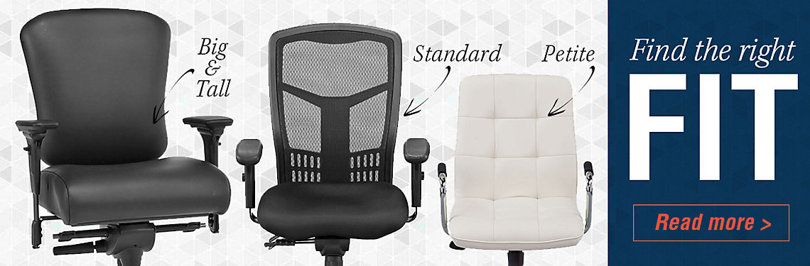 Find the right chair fit