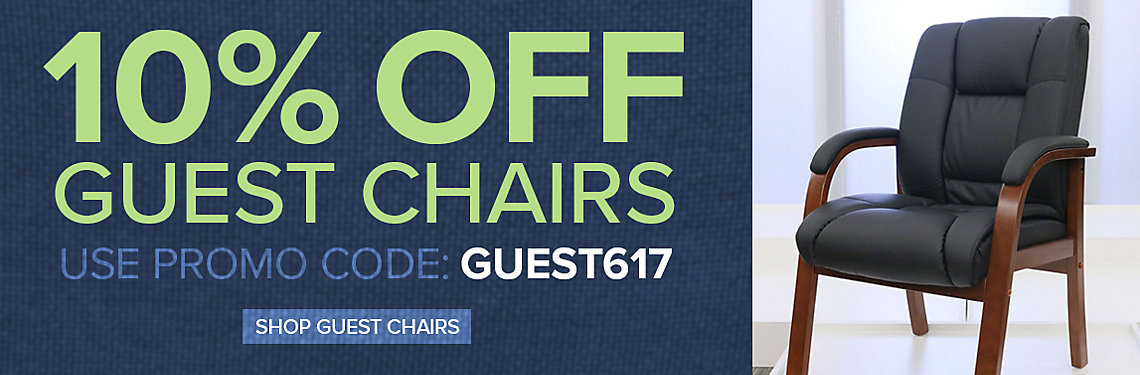 Save 10% on Guest Chairs
