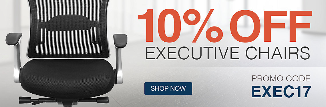 Save 10% on Executive Chairs