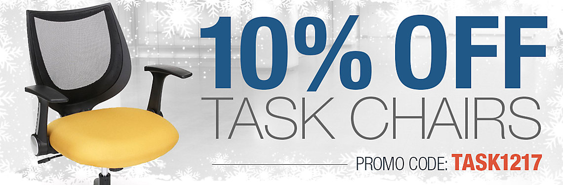 10% Off Task Chairs