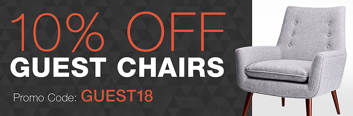 10% Off Guest Chairs