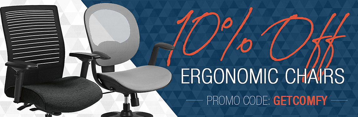 10% Off Ergonomic Chairs!