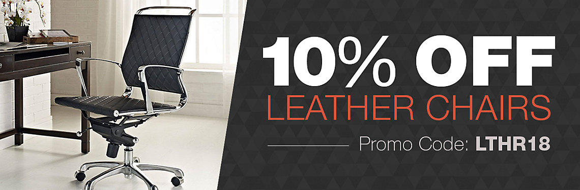 10% Off Leather Chairs
