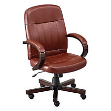 Faux Leather Conference Chair, CH51723