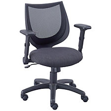 Petite Mesh Back Task Chair with Flip Arms, CH51767