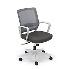 Perk Mesh Back Task Chair With White Frame, CH51912