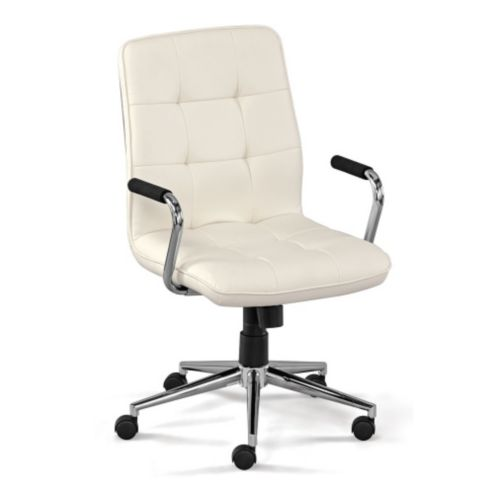 Demi Petite Faux Leather Task Chair