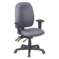 Work Smart Fabric Ergonomic Chair, CH02647