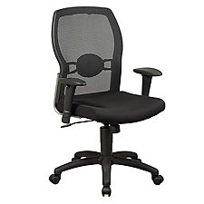 Work Smart Mesh and Fabric Ergonomic Chair, CH02645