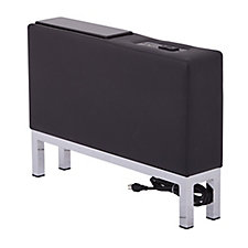 Faux Leather Charging Center Console, CH52290