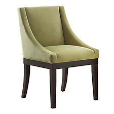 Monarch Velvet Armless Accent Chair, CH50889