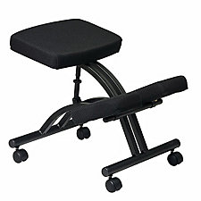 Work Smart Fabric Ergonomic Kneeling Chair, CH04324