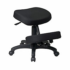 Fabric and Memory Foam Ergonomic Kneeling Chair, CH04323