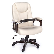 Oro Big and Tall Executive Chair with Tablet Arm, CH50610