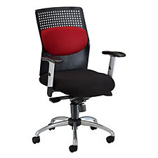 AirFlo Plastic and Fabric High Back Ergonomic Chair, CH03616