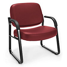 Big and Tall Vinyl Guest Chair, CH51925