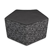"Quin Modular Pentagonal Stool - 30""W, CH51588"