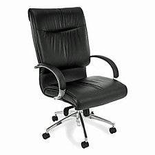 Sharp High Back Executive Leather Chair, CH04388