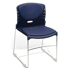 Sled Base Vinyl Stack Chair, CH51008