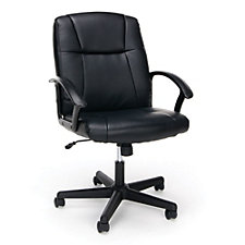 Essentials Faux Leather Mid-Back Computer Chair, CH51844