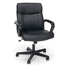Essentials Faux Leather Computer Chair, CH51845