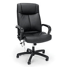 Essentials  Faux Leather Executive Massage Chair, CH51852