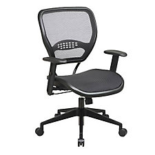 Space Air Grid Mesh Mid-Back Ergonomic Chair, CH02515