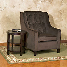 Curves Tufted Arm Chair, CH04941