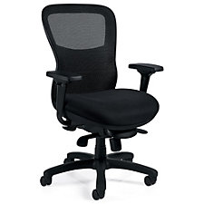 Atwater Mesh Back Mesh Fabric Seat Ergonomic Executive Chair, CH51110