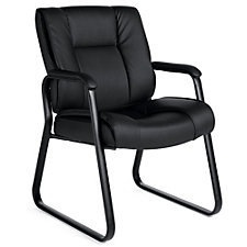 Lucia Square Back Bonded Leather Guest Chair, CH51140
