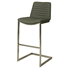 Buxton Vinyl Bar Height Stationary Stool, CH51065