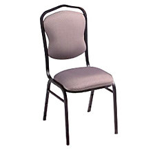 Stack Chair with Upholstered Seat and Back, CH03068