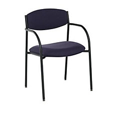 Contemporary Stack Chair with Upholstered Seat and Back, CH03076
