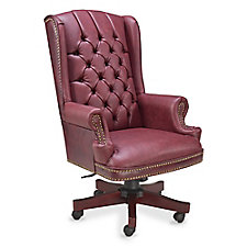 McKinley Leather Wing Back Executive Chair, CH52388