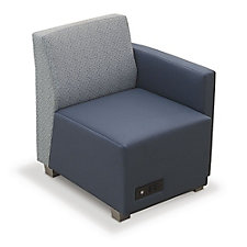 Compass Lounge Chair with Left Arm, CH51927
