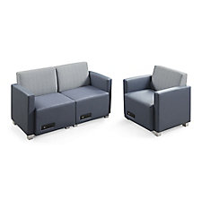 Compass Loveseat and Armchair, CH52020