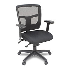 Kiera Mesh and Fabric Multi-Function Ergonomic Chair, CH04592