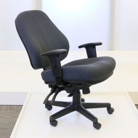 Eurotech Fabric Heavy Duty 24 Hour Ergonomic Chair