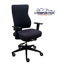 Comfort Seating Tempur-Pedic® Fabric Task Chair, CH51793