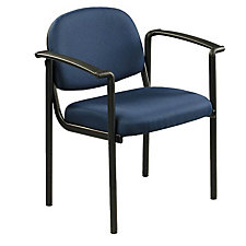 Fabric Guest Chair with Arms, CH02404