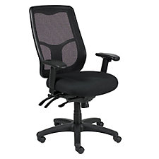 Apollo Mesh Back Fabric Seat Ergonomic High Back Chair, CH50933