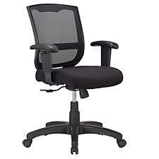 Maze Mesh Back Fabric Seat Task Chair, CH50937