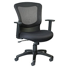 Marlin Mesh Back Fabric Seat Task Chair, CH50938